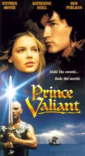 Prince Valiant (1997 film) - VHS cover
