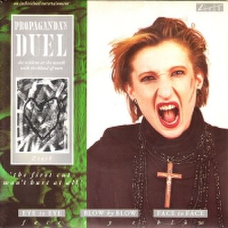 Duel (Propaganda song) - Image: Propaganda Duel single cover
