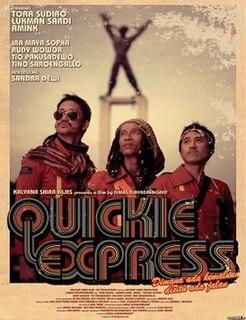 <i>Quickie Express</i> 2007 film by Dimas Djayadiningrat