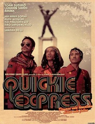 Quickie Express - Image: Quickie Express poster