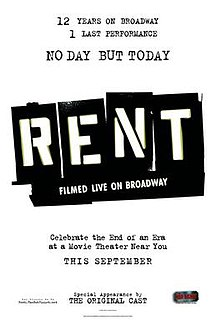<i>Rent: Filmed Live on Broadway</i> 2008 film