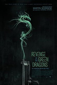 Revenge of the Green Dragons (2014) SL DM - Ray Liotta, Justin Chon, Shuya Chang, Harry Shum, Jr., Kevin Wu, and Billy Magnussen.