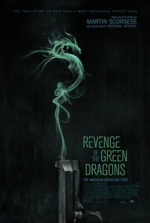 Revenge of the Green Dragons - United States theatrical release poster