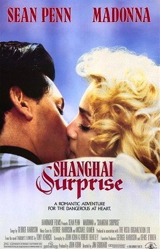 Shanghai Surprise - Theatrical release poster