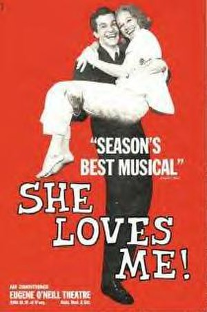 She Loves Me - Original Broadway poster