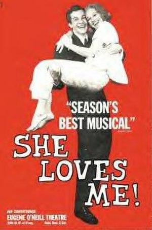 She Loves Me - Original Broadway poster