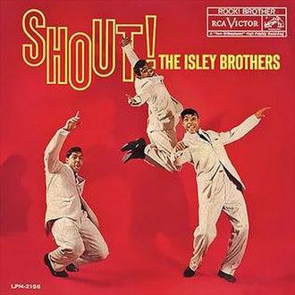 Shout! (album) - Image: Shout isleys