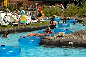 The lazy river of Boulder Beach Image via Wikipedia