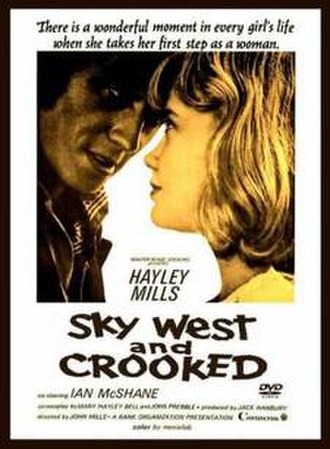 Sky West and Crooked - Theatrical release poster