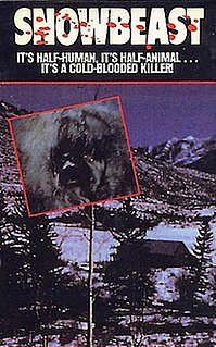<i>Snowbeast</i> 1977 television film directed by Herb Wallerstein