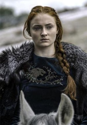 Sansa Stark - Sophie Turner as Sansa Stark