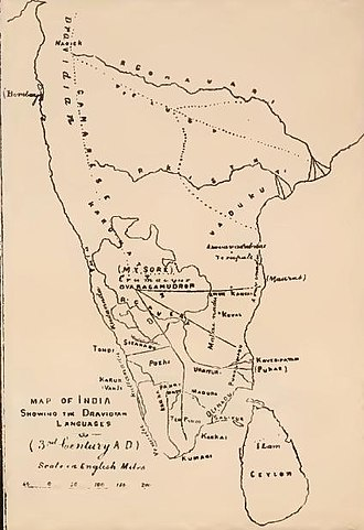 Sangam landscape - South India in the 3rd century AD