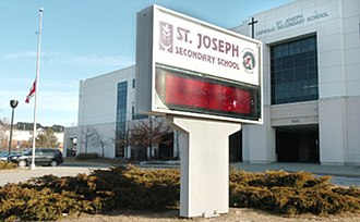 St. Joseph Secondary School (Mississauga) - Image: St. Joseph Secondary School (Mississauga)