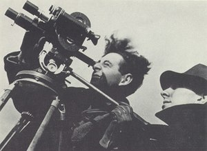 Ralph Steiner - Ralph Steiner (left) and Pare Lorentz