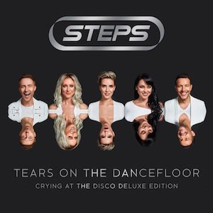 Tears on the Dancefloor: Crying at the Disco - Image: Steps Crying at the Disco (Official Album Cover)