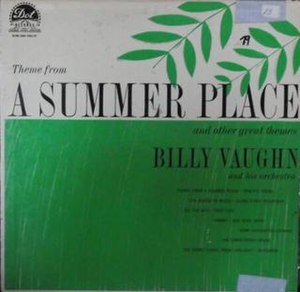 Theme from A Summer Place (Billy Vaughn album) - Image: Summer Place Vaughn