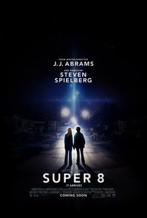 Super 8 (film) - Theatrical release poster