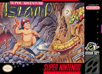 Super Adventure Island - North American box art