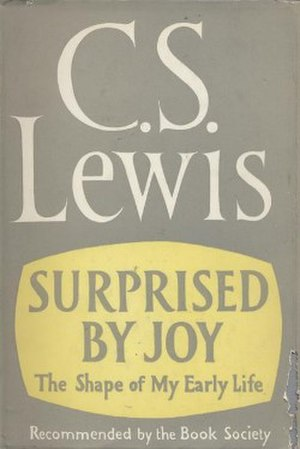 Surprised by Joy - First edition (UK)