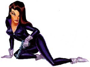 Talia al Ghul - Talia in the DC Animated Universe. Art by Bruce Timm.