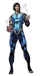 Garth (comics) fictional character, a superhero in publications from DC Comics