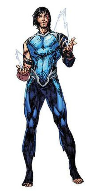 Garth (comics) - Tempest (DC Rebirth version)  Character design by Brett Booth.