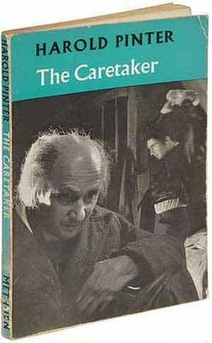 The Caretaker - First edition cover of The Caretaker, 1960