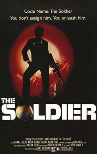 The Soldier (1982 film) - Theatrical release poster