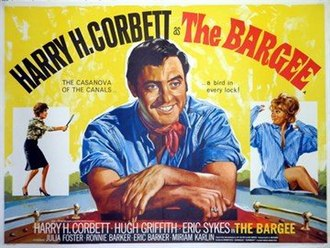 The Bargee - Original British quad poster by Tom Chantrell