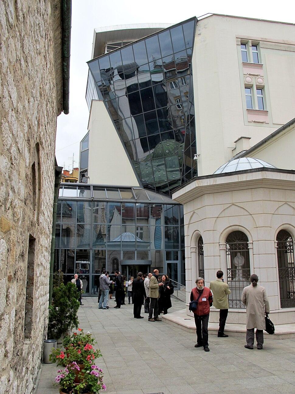 The Bosniak institute located in Sarajevo