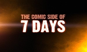 The Comic Side of 7 Days - The Comic Side of 7 Days Logo