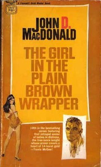 The Girl in the Plain Brown Wrapper - First edition cover