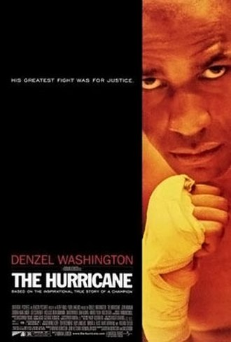 The Hurricane (1999 film) - Theatrical release poster