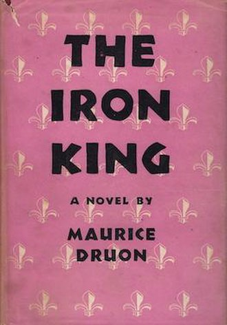 The Accursed Kings - 1956 English 1st edition cover of The Iron King