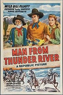 <i>The Man from Thunder River</i> 1943 film by John English