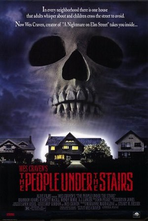 The People Under the Stairs - Theatrical release poster