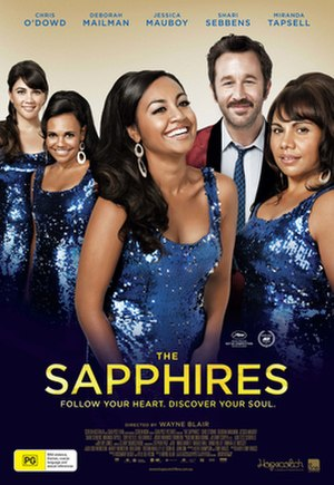 The Sapphires (film) - Image: The Sapphires poster