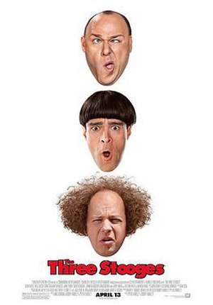 The Three Stooges (2012 film) - Theatrical release poster