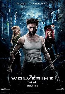 <i>The Wolverine</i> (film) 2013 superhero film directed by James Mangold
