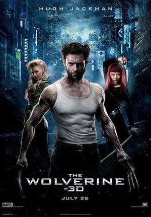 The Wolverine (film) - Theatrical release poster