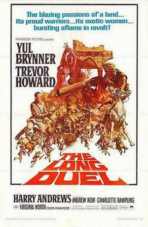 The Long Duel - film poster by Frank McCarthy