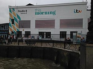 This Morning (TV programme) - The new exterior design coinciding with the programme's revamp.
