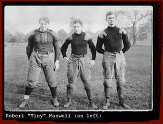 Tiny Maxwell - 1905 while attending Swarthmore College