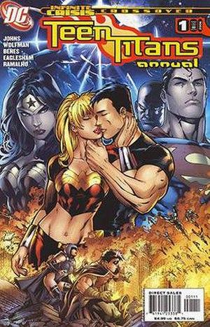 Wonder Girl (Cassie Sandsmark) - Image: Titans annual