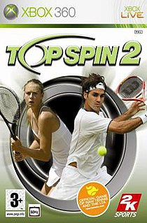 <i>Top Spin 2</i> 2006 video game