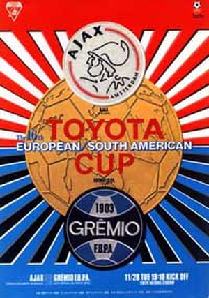 1995 Intercontinental Cup - Image: Toyota Cup 1995