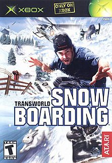 <i>Transworld Snowboarding</i> (video game)