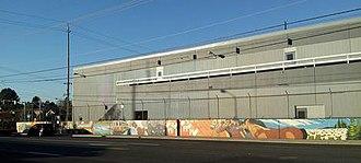 Tri It - The mural along Holgate Blvd. in 2015