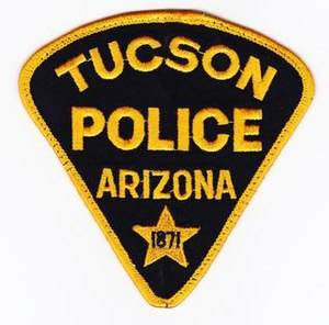 Tucson Police Department - Image: Tucson Police Department Patch