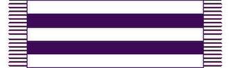 Wampum - A representation of the original Two Row Wampum treaty belt.